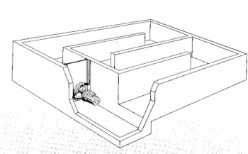 Mikser kanałowy elektryczny zatapialny