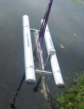 Pompownia elektryczna pływająca SPO17-13 7,5 kW