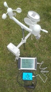 Stacja meteorologiczna z obliczaniem ewapotranspiracji i bilansu wody