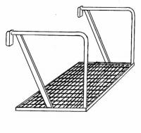 SJ10 - Drabiny, podesty, balkony