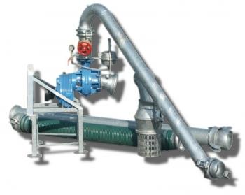 Pompownia T1250-1500 służy do zasilania w wodę systemów nawodnień upraw warzywniczych, szkółkarskich, sadowniczych, itp.