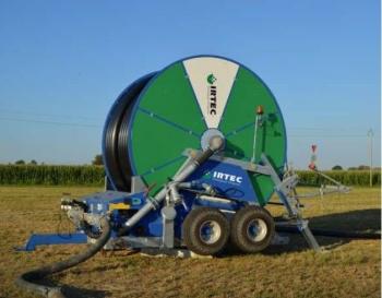 Deszczownie szpulowe IRTEC typu MUSTANG  są przeznaczone do nawadniania rolniczych upraw polowych, ogrodniczych, użytków zielonych itp.