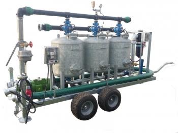 Stacja oczyszczania wody mobilna - Irriga