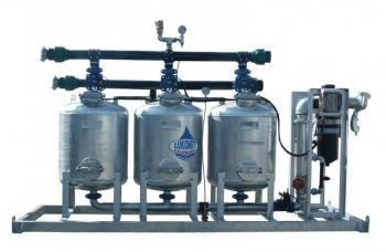 Stacja oczyszczania wody 3 zbiornikowa