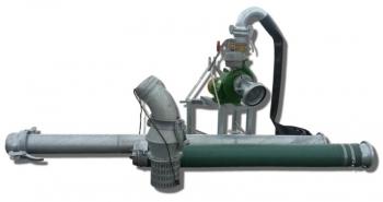 Pompownia T3-110 służy do zasilania w wodę systemów nawodnień: wielkoobszarowych (do 100 ha) upraw rolniczych, warzywniczych, szkółkar-skich, sadowniczych, łąk, pastwisk itp.