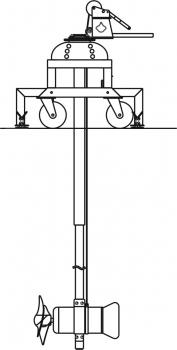 Mieszadło podrusztowe słupowe SG70.slup3
