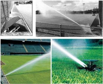 Systemy nawadniania murawy boisk sportowych